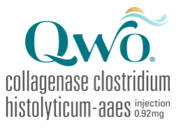 QWO® (collagenase clostridium histolyticum-aaes) Logo